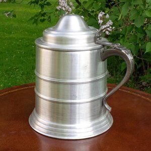 Vintage 1970's Decorative Aluminum Stein Bucket